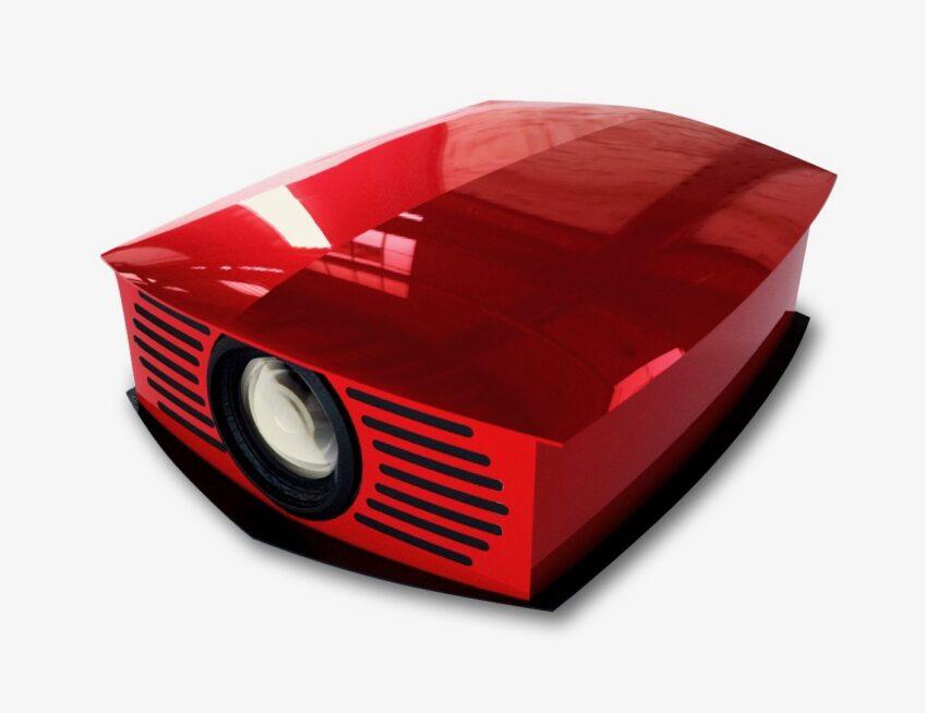 > Helios True 4K Laser Home Cinema Projector